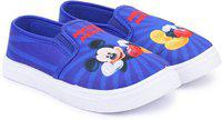 Disney Boys Slip on Sneakers(Blue)