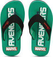 Disney Boys Slip On Slipper Flip Flop(Green)