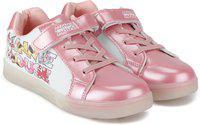 Minnie Girls Velcro Sneakers(Pink)