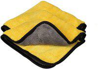 Autyle Microfiber Vehicle Washing Cloth(Pack Of 2, 800 GSM)