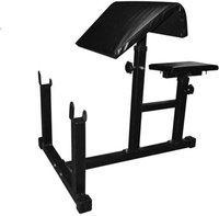FACTO POWER Preacher Curl Arm Bench (Fix) Multipurpose Fitness Bench