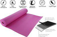 Spinway Anti-Skid 6mm With Cover Bag Pink 10 mm Yoga Mat