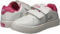 Barbie Boys Velcro Sneakers(White)