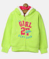 612 League Full Sleeve Applique Girls Sweatshirt