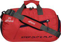 alfisha (Expandable) gym sports duffel bag with shoe compartment Gym Bag(Red)