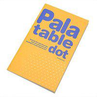 Enwraps Dot Series Regular Notebook Unruled 180 Pages(Yellow)