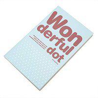 Enwraps Dot Series Regular Notebook Unruled 180 Pages(Sky Blue)