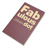 Enwraps Dot Series Regular Notebook Unruled 180 Pages(Brown)