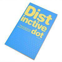Enwraps Dot Series Regular Notebook Unruled 180 Pages(Blue)
