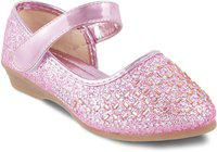 KITTENS Girls Slip on Ballerinas(Pink)