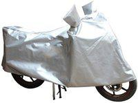 Take Care Two Wheeler Cover for Universal For Bike(XL 883, Silver)