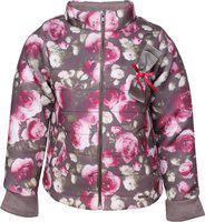 Cutecumber Full Sleeve Floral Print Girls Jacket
