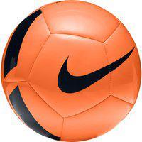 Nike Pitch TEAM Football - Size: 5(Pack of 1, Orange, Black)