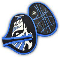 NODENS 3 finger grip pad Gym & Fitness Gloves (XL, Blue)
