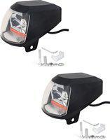 AllExtreme 20W Waterproof LED Fog Light With USB Port Car Fancy Lights(Multicolor)