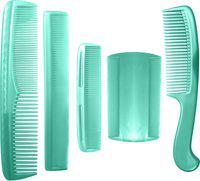BOXO New Arrival Hair Comb Combo Kit, Hair Comb Set For Men And Women, Green