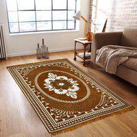 Hargunz Multicolor Chenille Carpet(140 cm X 190 cm)
