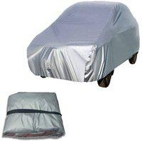 Depon Car Cover For Hyundai Elite i20 (Without Mirror Pockets)(Silver)