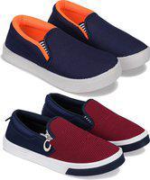 Bersache Boys Slip on Walking Shoes(Multicolor)