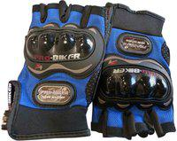 Probiker Bike Racing Motorcycle Riding Gloves(Blue)