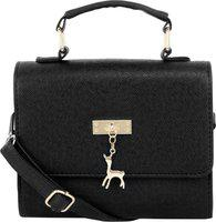 Don Cavalli Women Black Messenger Bag