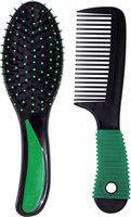 RAAYA Professional Comb Set, Hair Comb with Brush, Saloon Accessories for Hair, Comb Set for Hair Combo, 15 Gram, Pack of 1