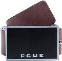 French Connection Men Brown Genuine Leather Belt