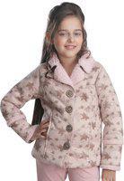 Cutecumber Full Sleeve Printed Girls Jacket