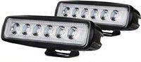Riderscart Headlight, Fog Lamp, Dash Light, Tail Light LED(Universal For Bike, Universal For Car, Pack of 2)