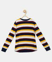 GAP Full Sleeve Striped Boys Sweatshirt