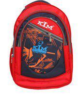 Kim Bag House Smart College Bag II Backpack II Multiuse bag 17 Backpack(Red)