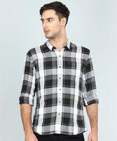 Wrangler Men Checkered Casual Multicolor Shirt