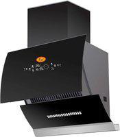 SURYA EX1400-GO18-Black Auto Clean Wall Mounted Chimney(Black 1400 CMH)