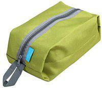 DALUCI Durable Bluefield Ultralight Waterproof Oxford Washing Gargle Stuff Bag Outdoor Camping Hiking Travel Storage Bag (Green)