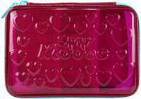 Smily Kiddos 1 stars Art Polyester Pencil Box(Set of 1, Pink)