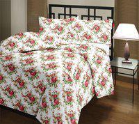Renown Floral Double Dohar(Poly Cotton, Multicolor)
