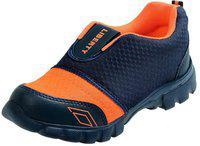 Liberty Boys & Girls Slip on Running Shoes(Orange)
