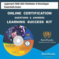 sapsmart FM0-303 FileMaker 9 Developer Essentials Exam Online Certification Learning Made Easy(DVD)