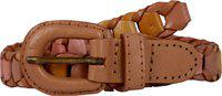 Exotique Women Casual Pink, Beige, Yellow Genuine Leather Belt