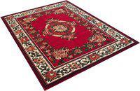 Arsalan Red Acrylic Carpet(180 cm X 240 cm)