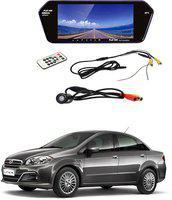 RWT car video monitor_1 Black LED(17.5 cm)
