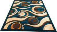 Arsalan Multicolor Polypropylene Carpet(180 cm X 240 cm)