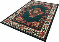 Arsalan Green Polypropylene Carpet(180 cm X 240 cm)