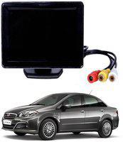 RWT 4.3 Inch Car Dashboard Screen for Fiat Linea Black LED(10.9 cm)