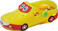 Yellow Bee Boys Sling Back Clogs(Yellow)