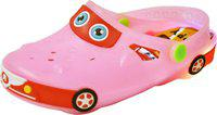 Yellow Bee Boys Sling Back Clogs(Pink)