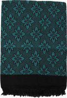 Saagar Tex Floral Double AC Blanket(Poly Cotton, Blue)
