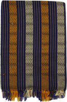 Saagar Tex Striped Double AC Blanket(Cotton, Multicolor)