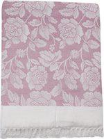 Saagar Tex Floral Double AC Blanket(Cotton, Pink)