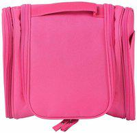 ClickUS Travel Toiletry Bag Travel Toiletry Kit(Pink)